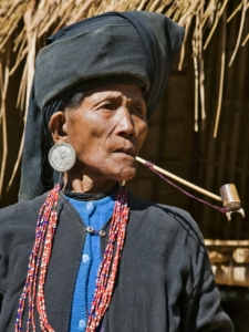 Ann tribal woman, BURMA