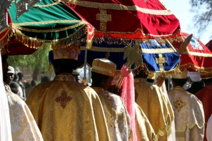 Palm Sunday procession, Axum