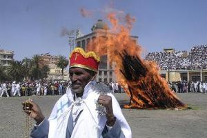 Meskel Festival, Addis Ababa, ETHIOPIA