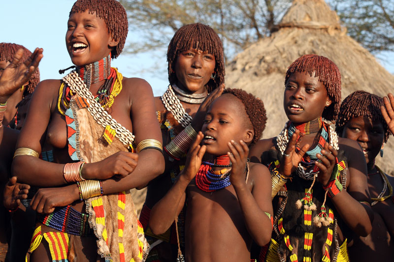 Hamar Tribes woman - Ethiopia by Tenbult on DeviantArt