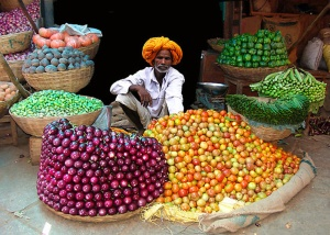 Vegetable Seller, Rajasthan
