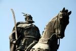 Skanderberg Bronze Statue, Tirana, ALBANIA