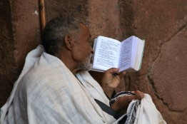 Prayers, Geez text bible, Lalibela