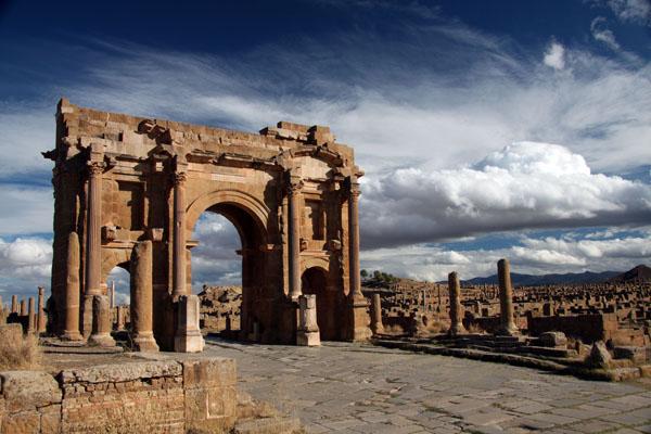 Trajan Arch, Timgad