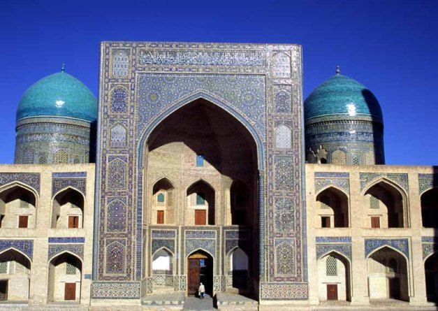 View of Mir-i-Arab Madressa, Bukhara
