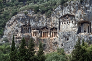 Lycian Rock Tombs,