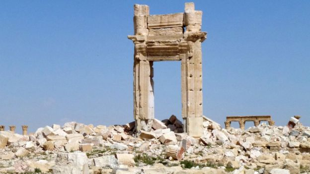 Temple of Bel after ISIS
